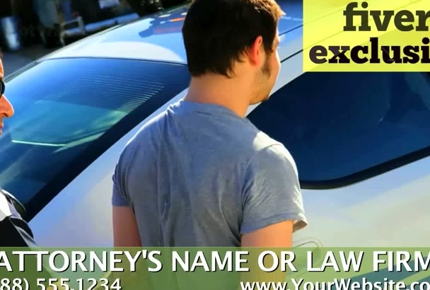 personalize a video for a Criminal Defense Attorney
