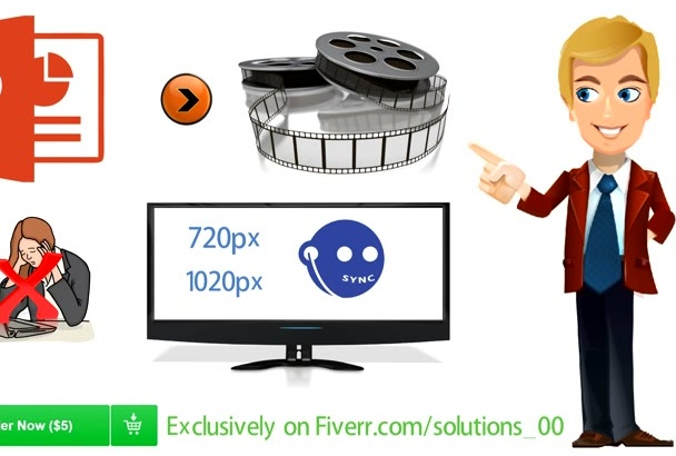 convert PowerPoint presentation in to video FAST