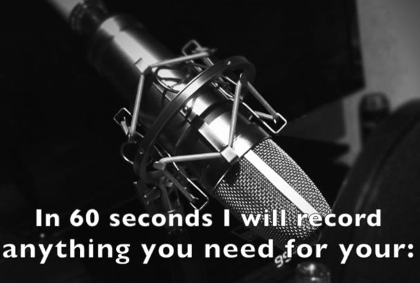 record a profesional Spanish voice over