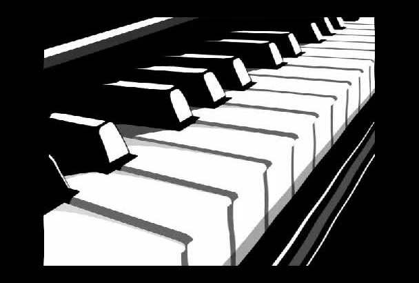 record piano music, solo or not
