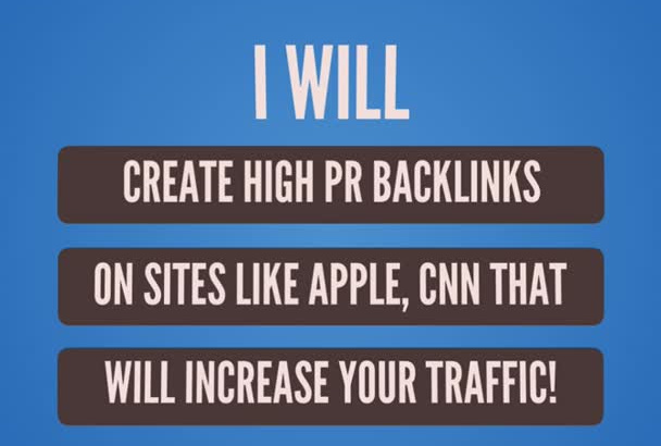 boost your SEO and branding with 20 links on sites like apple, ted etc