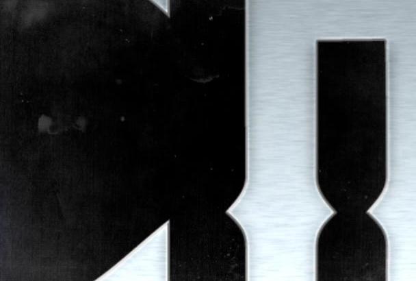 design your bands logo or a headline