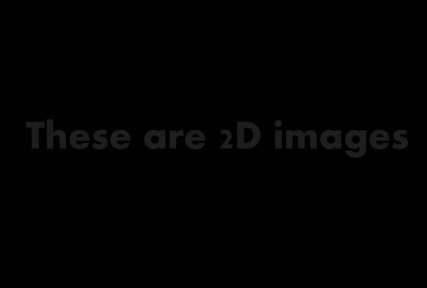 animate your 2D photos in 3D space