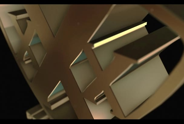 place your name in this Gold 3D Animation