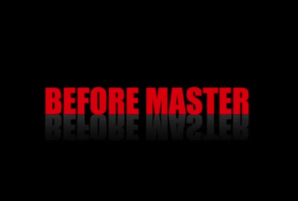 master your music professionally and LOUD in 12h