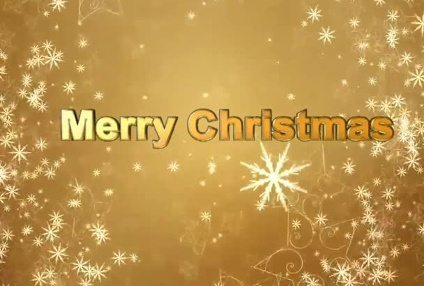 create Christmas video greeting,product advertizing