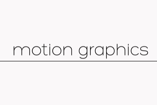 edit or create motion graphics for your Instagram or Youtube