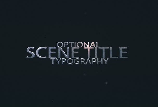 make an amazing action intro title to your videos
