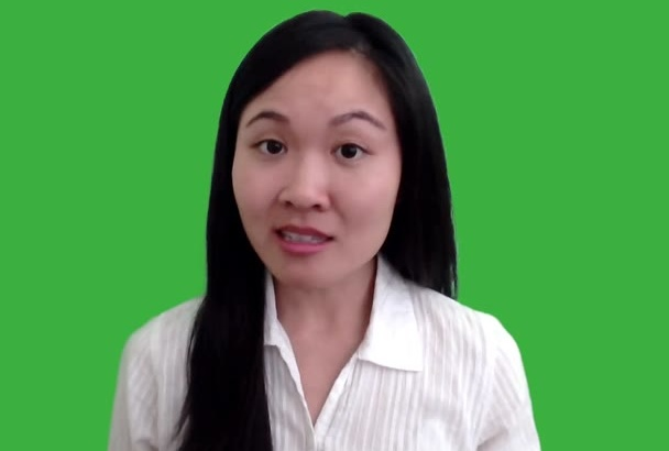 film a green screen video