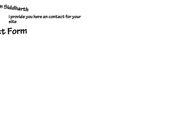 provide you custom contact form in wordpress