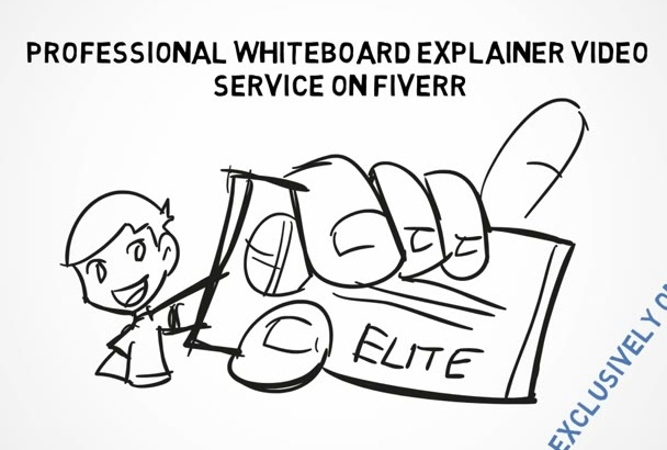 create engaging whiteboard video in 48hrs