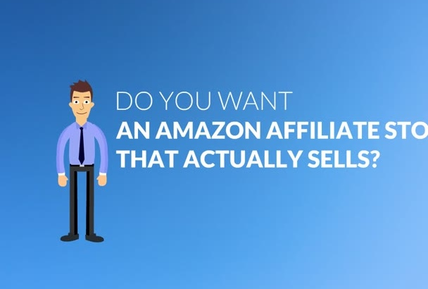 build uncomplicated AMAZON Affiliate Store