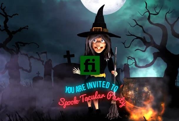 this Amazing Halloween Party Invitation