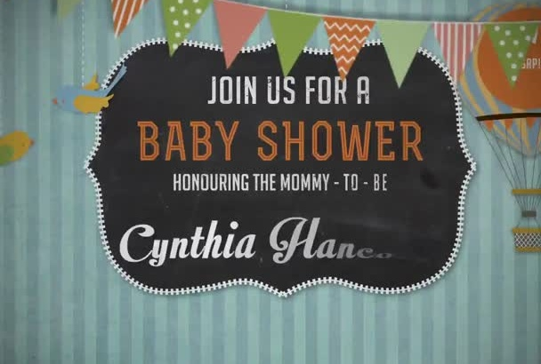 customize this cute   baby announcement