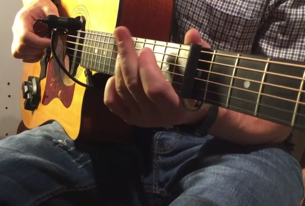 record a great acoustic guitar track for your song