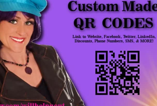 create a Custom QR Code for your Business or Site