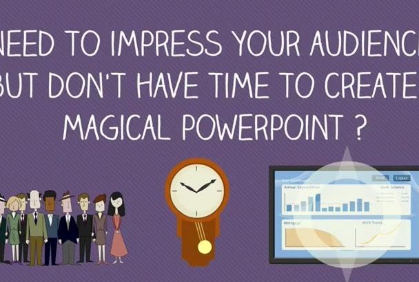 create an impressive powerpoint presentation