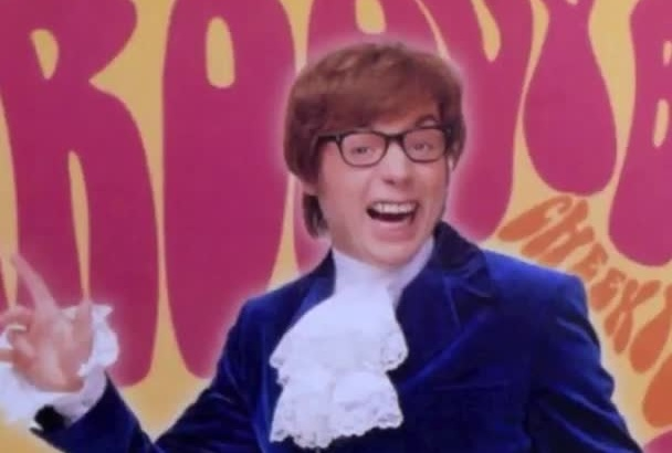 record a voice over in my Austin Powers voice