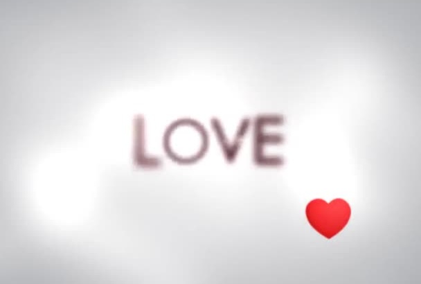make a Beautiful LOVE Quote Video for your Loved one