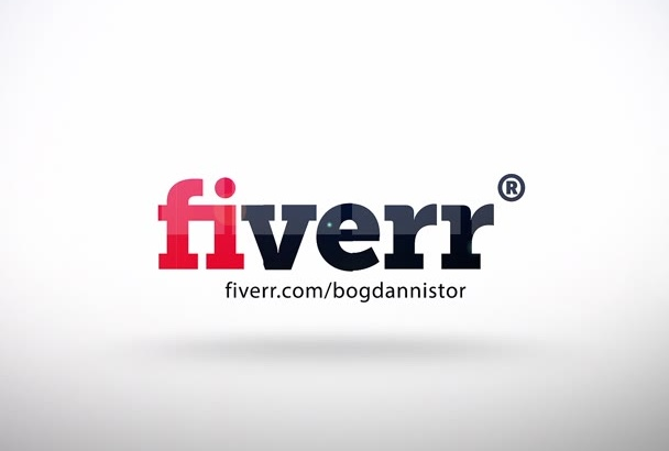 do amazing 3d flip  logo reveal