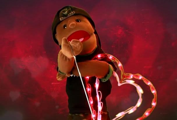 valentines Day message video