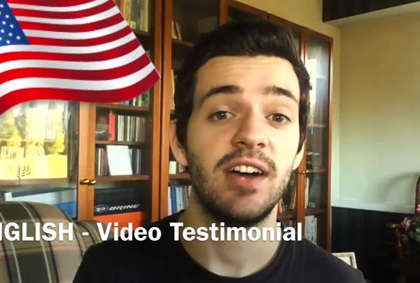 record the best NATURAL testimonial video