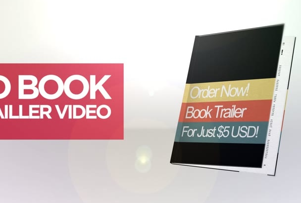 produce this amazing book video trailer