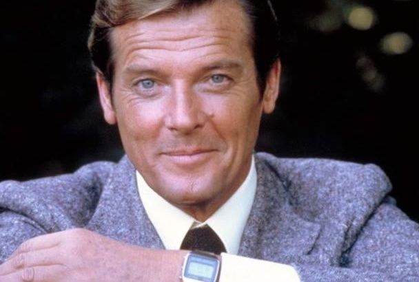 record a Roger Moore James Bond character voiceover