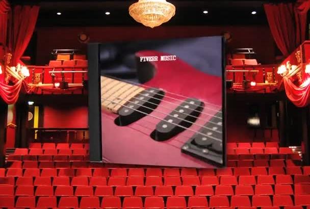 do CD dvd Video Promo Intro