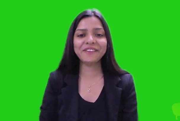 do a green screen promotional or testimonial video