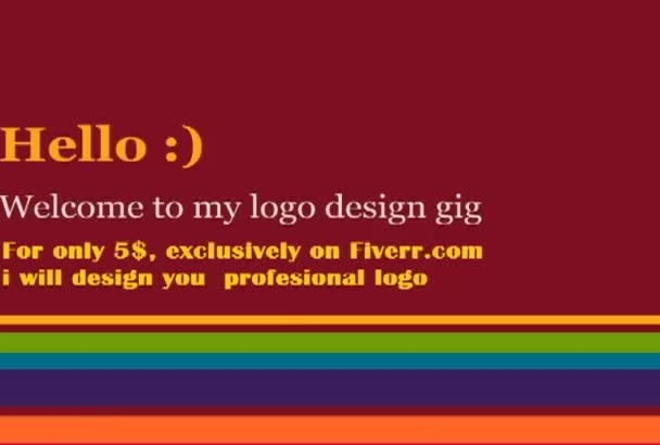 design professional LOGO for you or your company
