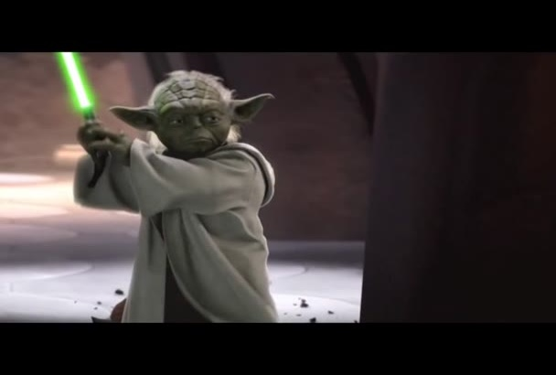 record a Yoda birthday message for your child
