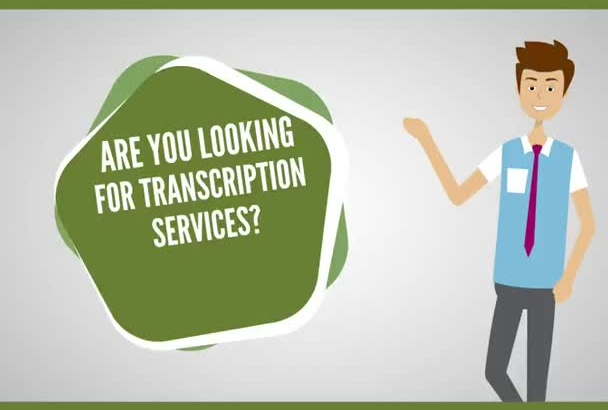 transcribe your audio or video files