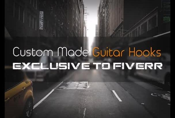 record a pro quality hip hop guitar hook