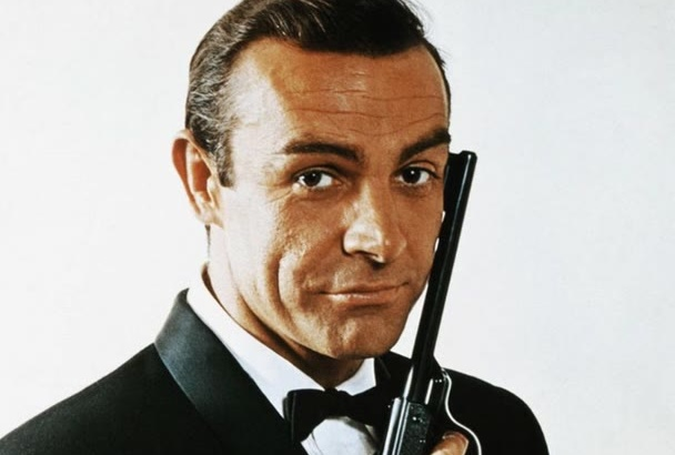 impersonate Sean Connery or James Bond