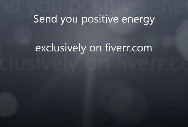 send you positive energy for 50 days