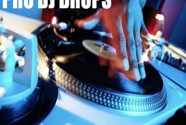 intro Outro Radio DJ Drop Voice Over Jingles Professional