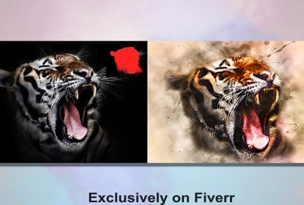 do Modern Artistic Effects In your Picture