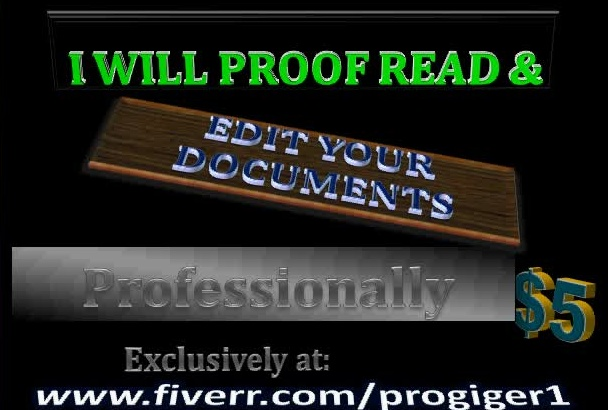proofread your word documents up to 10,000 words