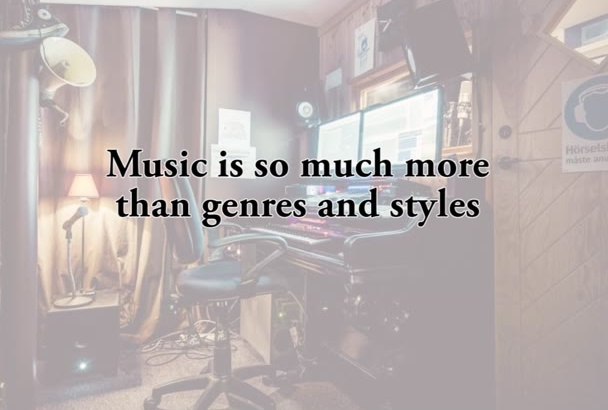 create music in any genre for any purpose