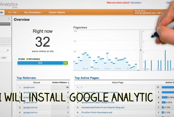 install Google Analytics for Wordpress site