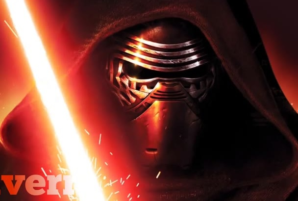make New Star Wars Kylo Ren video with logo