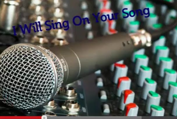 sing on your song and create a vocal track