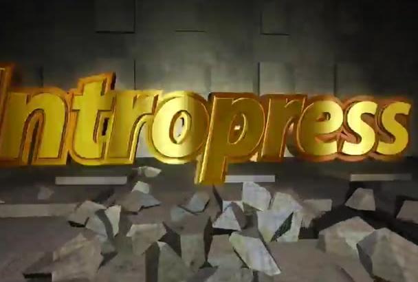 create This Amazing MINECRAFT style youtube intro