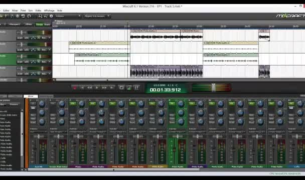edit and enhance your instruments and vocals recording