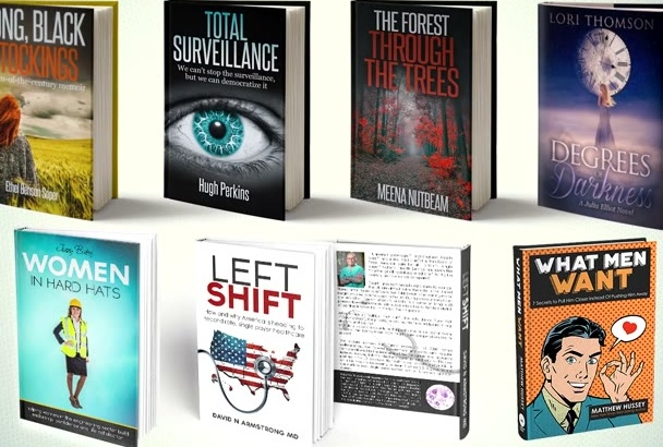 design a professional and attractive book cover