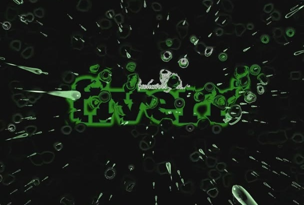 make this rain intro logo stinger reveal video