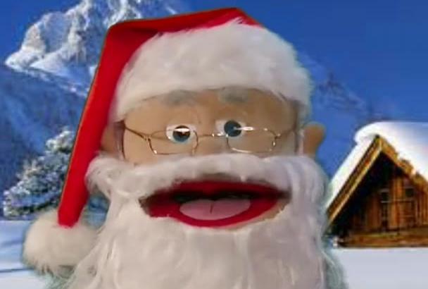 do Santa Christmas Holiday Message Greeting