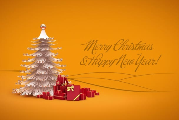 make this Christmas greeting card