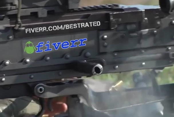 animate a firing MACHINEGUN